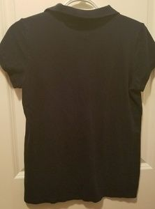 46041e704e17 jcpenney Tops - NWOT JCPenney Navy Blue Cap Sleeve Polo!